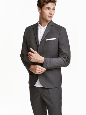 Пиджак серый | 5659026