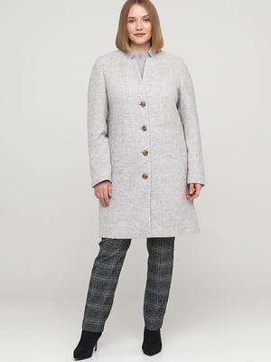 Пальто сіре | 5659035