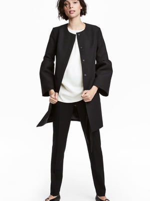 Пальто чорне | 5659042