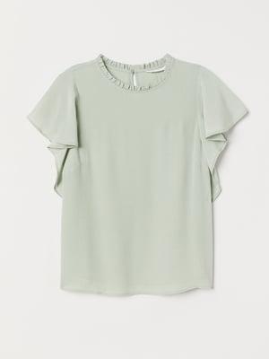 Блуза оливкового кольору | 5659134