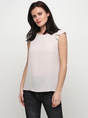 Блуза бежевого кольору | 5659191