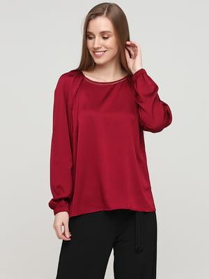 Блуза бордовая | 5659342