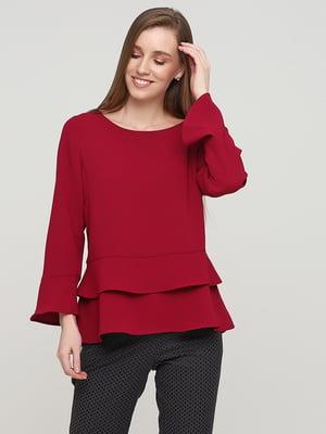 Блуза малинового цвета | 5659348