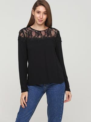 Блуза черная | 5659352