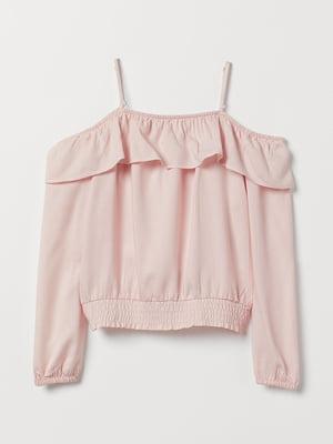 Блуза розового цвета   5659384