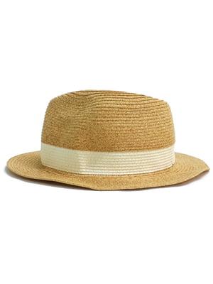 Шляпа бежевого цвета | 5659423