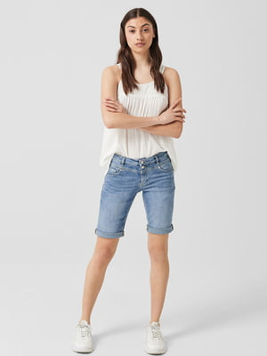 Шорты джинсовые синие | 5659614
