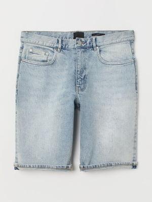Шорты джинсовые голубого цвета | 5659627