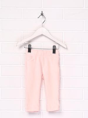 Брюки розового цвета | 5660085
