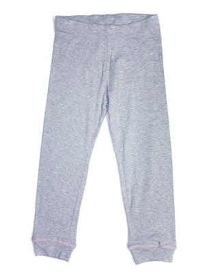 Брюки пижамные серые | 5660099