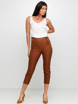 Брюки коричневого цвета   5660112