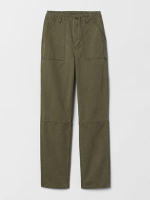 Штани кольору хакі | 5660133
