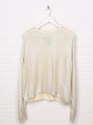 Джемпер серебристого цвета | 5660205