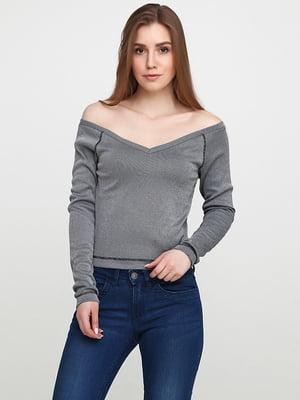 Пуловер серый | 5660208