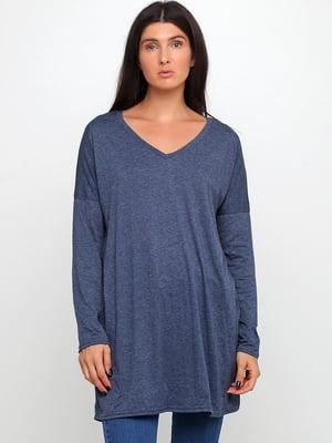 Пуловер синий | 5660224