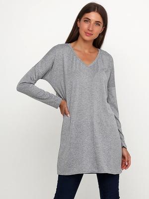 Пуловер серый | 5660225