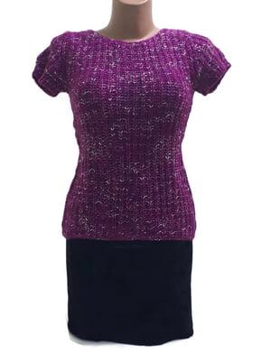 Джемпер-топ фіолетовий | 5660236
