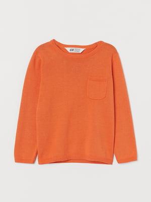 Джемпер морковного цвета | 5660273