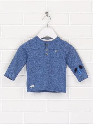 Джемпер синій з малюнком | 5660336