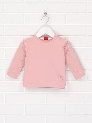 Джемпер рожевого кольору з декором | 5660339