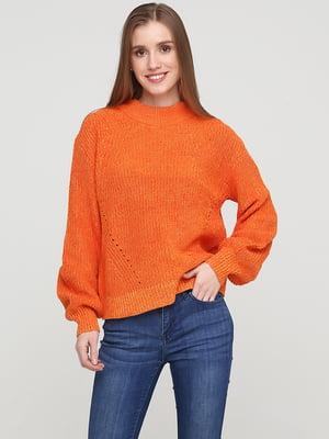Джемпер морквяного кольору | 5660387
