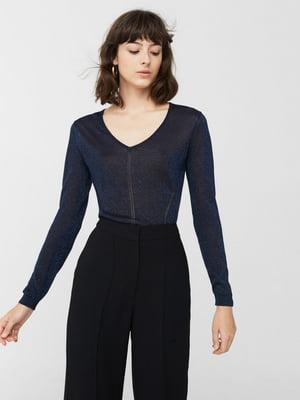 Пуловер синій | 5660423