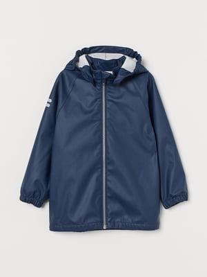Куртка-дождевик синяя | 5660495
