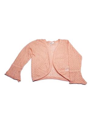 Кардиган розового цвета с узором | 5660524