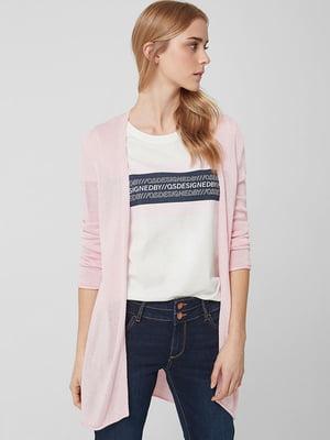 Кардиган рожевого кольору | 5660526