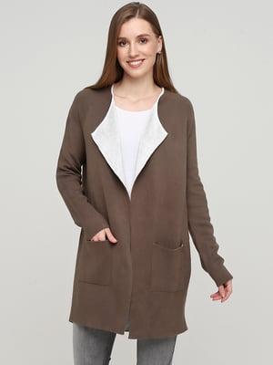 Кардиган коричневого цвета | 5660551