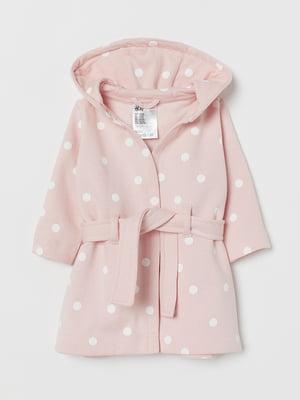 Кардиган розового цвета в горошек | 5660555