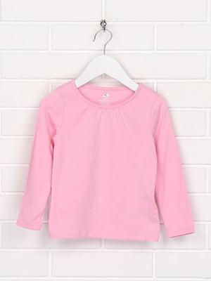 Лонгслів рожевого кольору | 5660612
