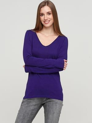 Лонгслив фиолетовый | 5660643