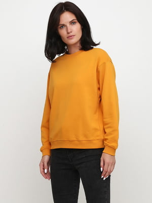 Світшот морквяного кольору | 5660705