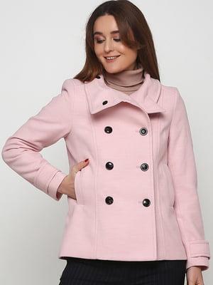 Напівпальто рожевого кольору | 5660804