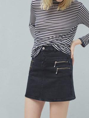 Юбка джинсовая синяя   5660831