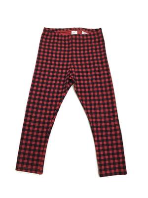 Брюки пижамные красного цвета в клетку | 5660962