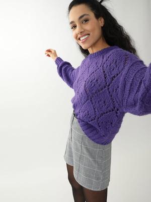 Джемпер фиолетовый | 5661677