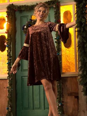 Платье коричневое | 5115956