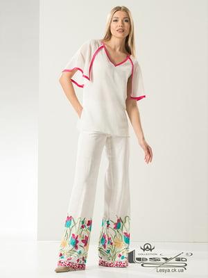 Костюм: блуза і штани | 5120728