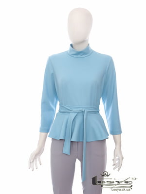 Блуза голубая   5142125