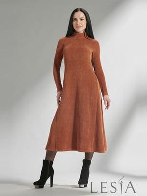 Сукня теракотового кольору | 5304216