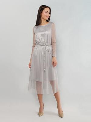 Сукня сріблястого кольору | 5304225
