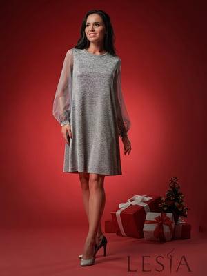 Сукня сріблястого кольору | 5304226