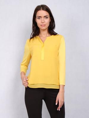 Блуза желтая | 5343232