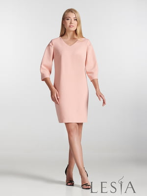 Сукня пудрового кольору | 5502660