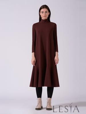 Платье коричневое | 5533071