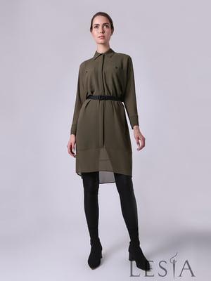 Сукня кольору хакі | 5533082
