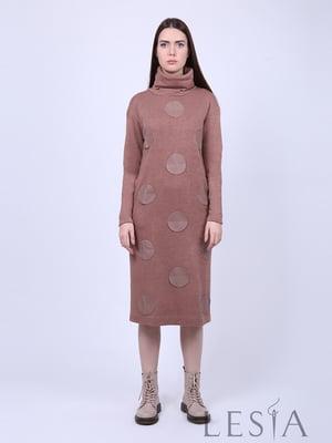 Платье бежевое | 5593389