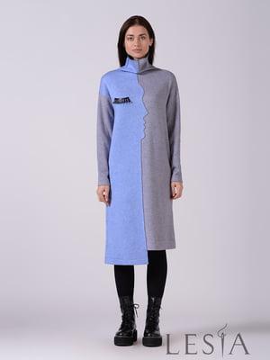 Платье двухцветное | 5593404